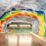 Metro hopping Stockholm's underground art gallery