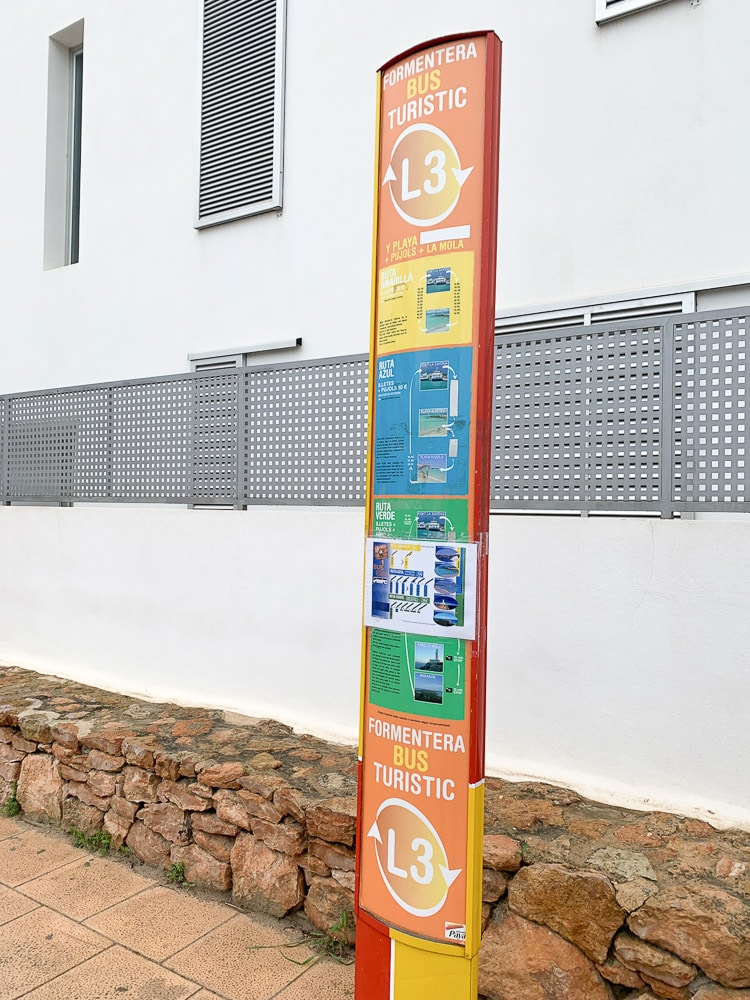 L3 Tourist Circuit bus - Formentera