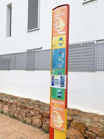 L3 Tourist Circuit bus - Formentera_RiA Vistas