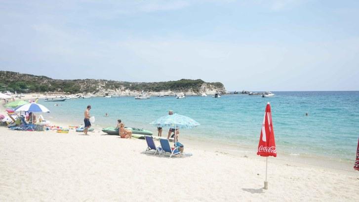 Kalamitsi beach Sithonia