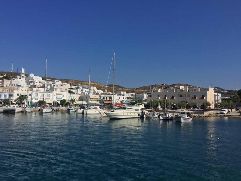 Milos port