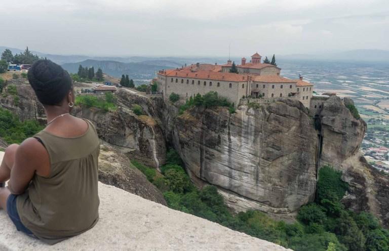 St Stephans Monastery - Meteora