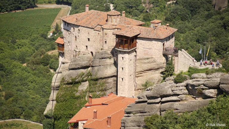 The Monastery of Rousannou_Meteora - Kalabaka