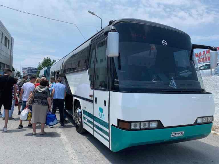 KTEL Halkidiki - coach to Sithonia
