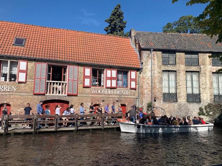 Boottochten Boats -Dijver canal - Bruges_RiA Vistas