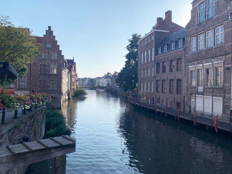 Beautiful Ghent Canal