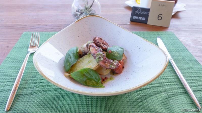 Food at BOWA Restaurant Dubrovnik_RiA Vistas
