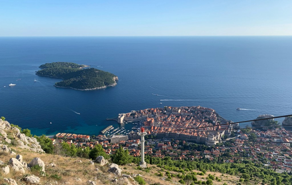 Dubrovnik from Panorama