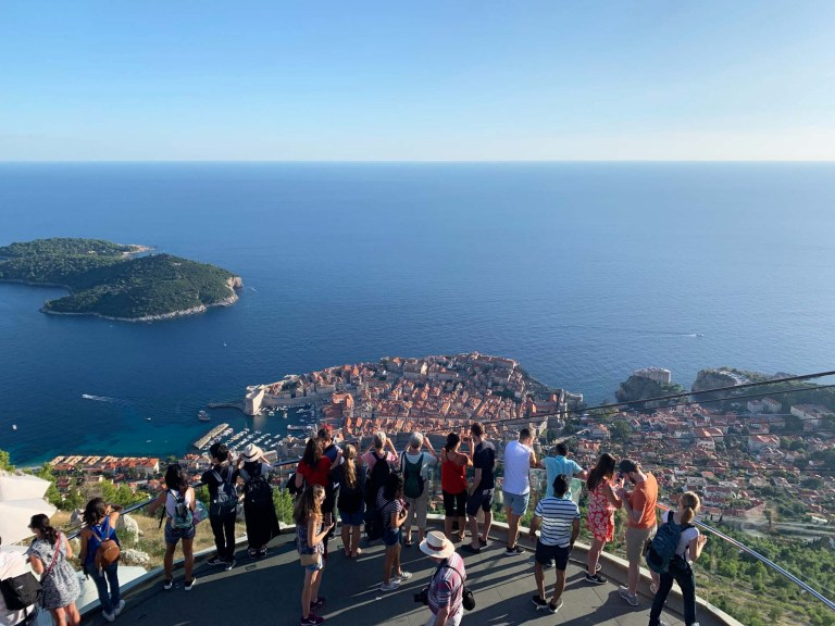 Dubrovnik - from Panaorama Bar