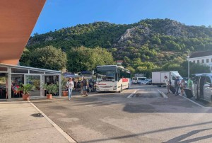 Hvar bus station - Croatia