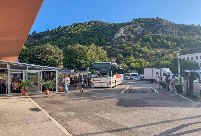 Hvar bus station - Croatia