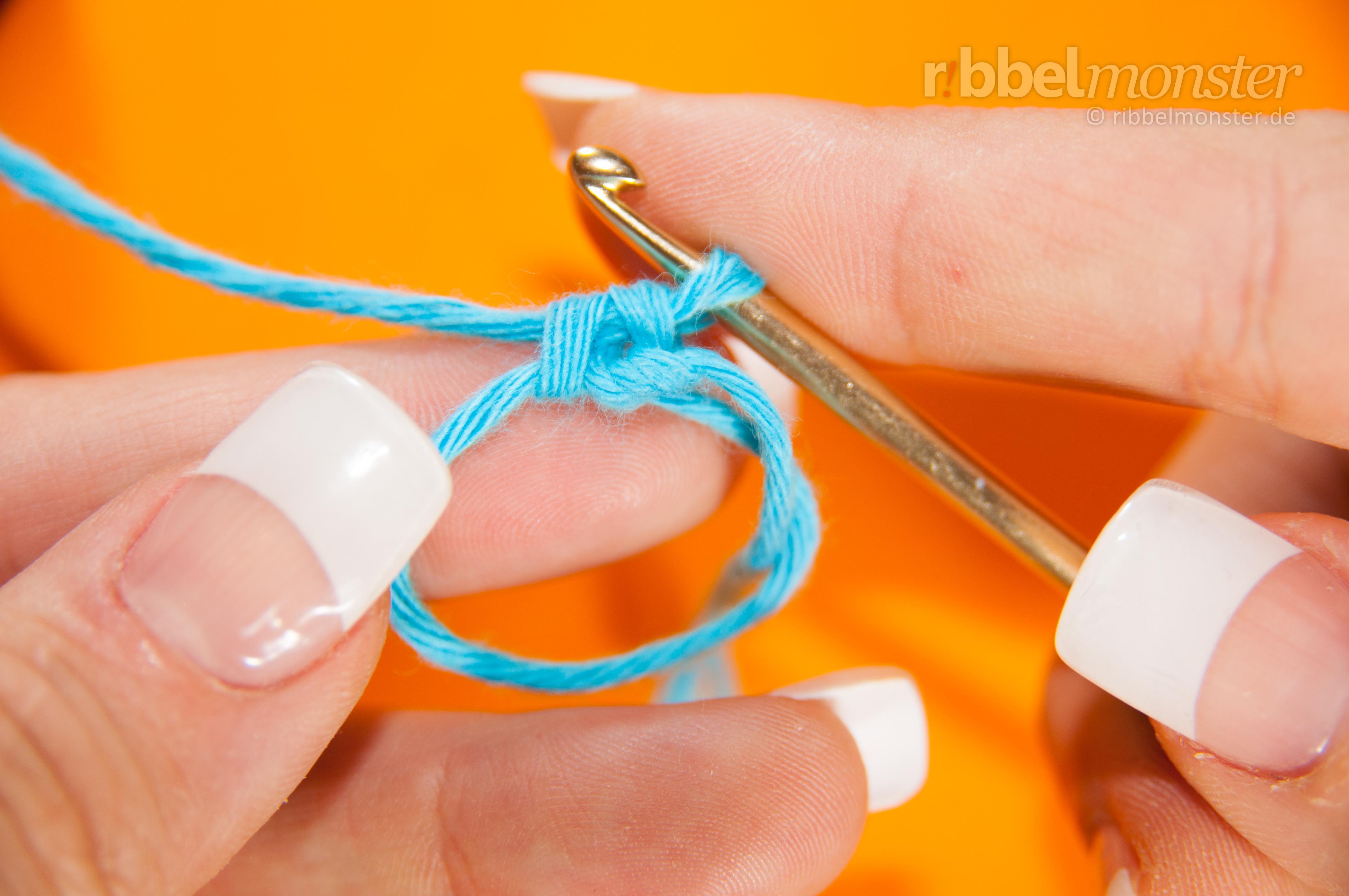 Fadenring Häkeln Magischer Ring Flexibler Ring Häkeln Lernen