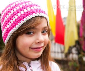 Mütze häkeln - Anleitung: Beanie mit halben Stäbchen
