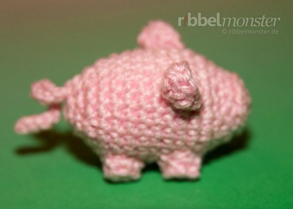 Anleitung - kleines Schwein häkeln
