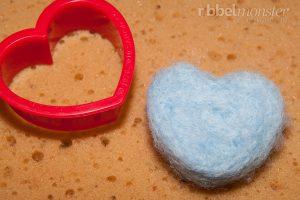 Trockenfilzen für Anfänger - Ausstechformen Herz