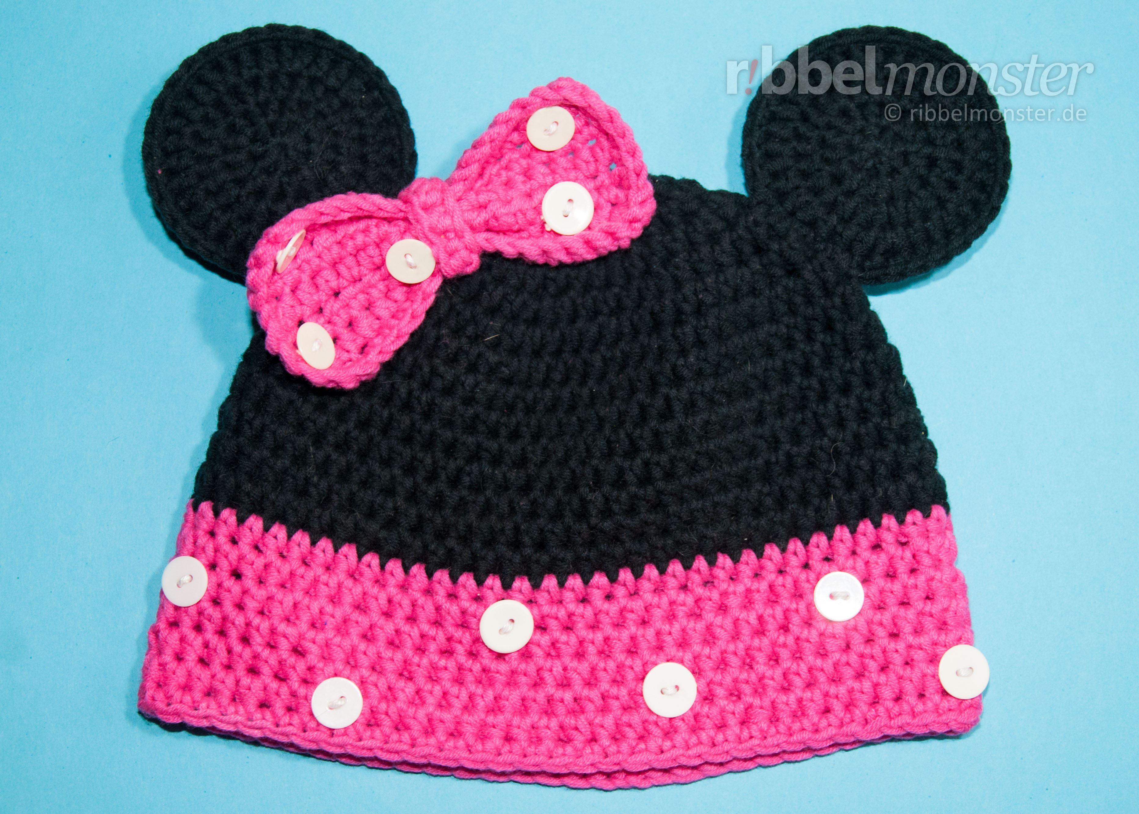 Mütze Häkeln Minnie Maus Mütze Häkeln Premium Kostenlose