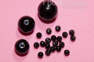 Amigurumi Augen - schwarze Perlen