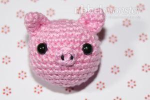 Amigurumi - Schweinchen häkeln - Pori - kostenlose Häkelanleitung
