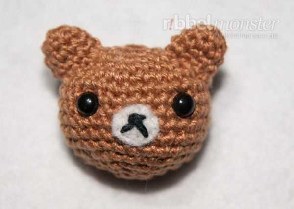 Amigurumi - Teddy häkeln - Bär - Teddybär - Anleitung - Häkelanleitung