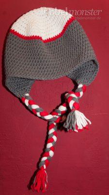 Häkelanleitung Socken Affe Mütze häkeln