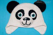 Anleitung Panda Mütze häkeln Paddy Häkelanleitung