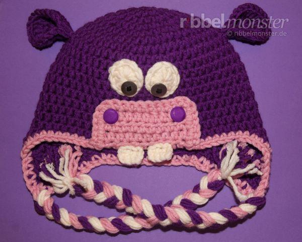 Nilpferd Mütze Häkeln Hanny Für Babies Kinder Und Erwachsene