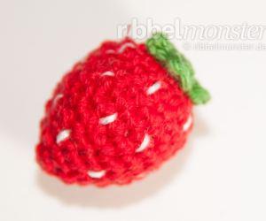 Amigurumi kleine Erdbeer häkeln - Anleitung - Häkelanleitung