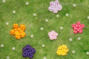 Blüten häkeln