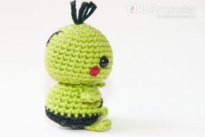 Amigurumi - Minimee Zombie häkeln - Ouk - Anleitung - kostenlose Häkelanleitung