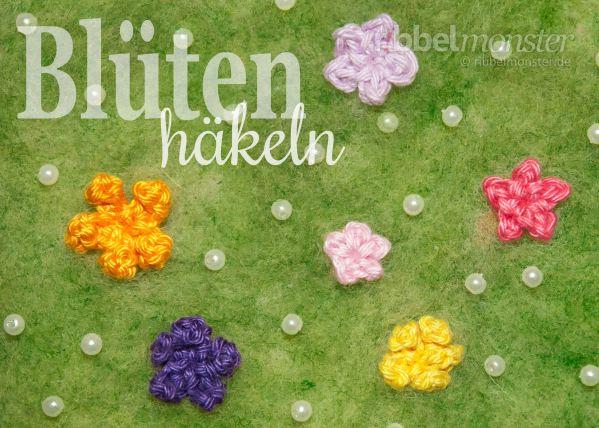 Blumen Häkeln Blüten Häkeln Premium Kostenlose Anleitungen