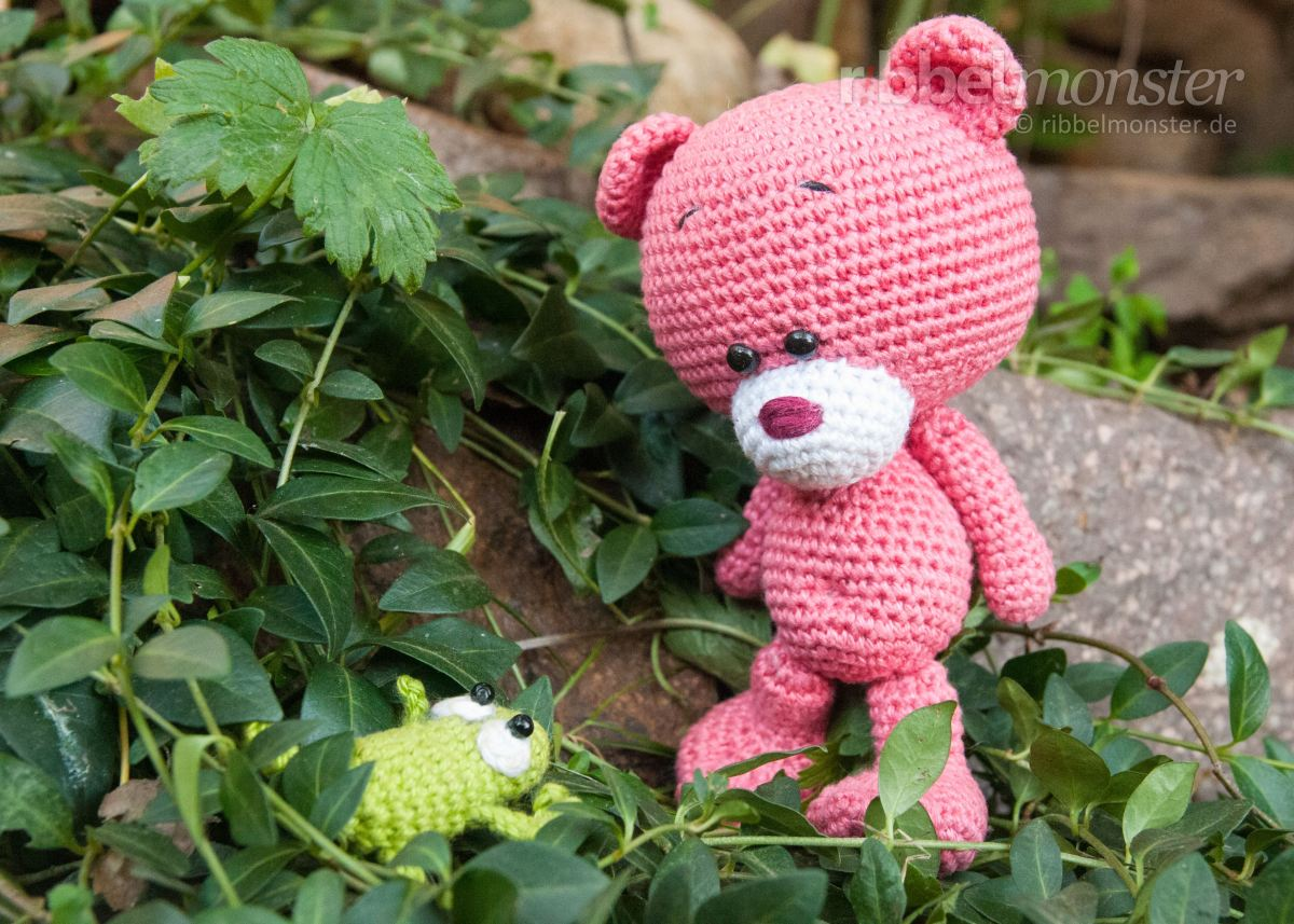 """Amigurumi - Teddy häkeln """"Pina"""""""