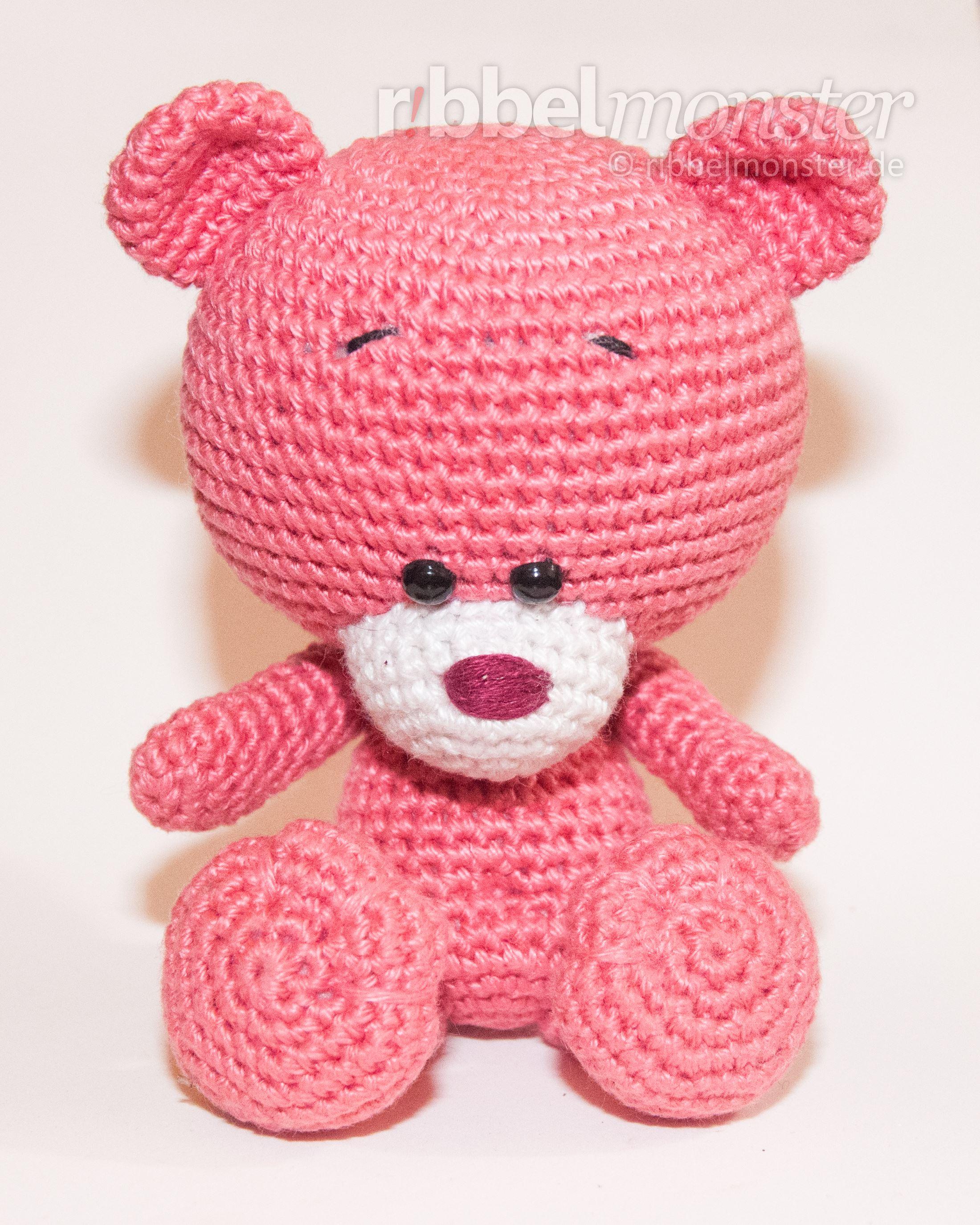 Amigurumi - Teddy hakeln