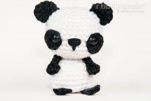 Amigurumi Minimee Pandabär Häkeln Eiko Premium Kostenlose