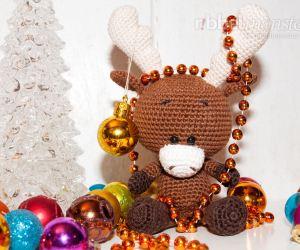 Kuscheltiere Für Weihnachten Häkeln Ribbelmonster Ribbelmonster