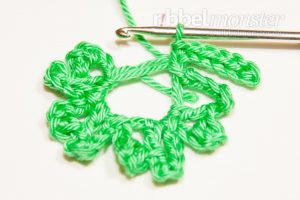 Crochet 4 Leaf Clover - Gli - Crochet for the New Year