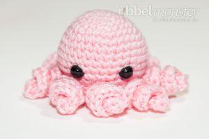 Amigurumi - Baby Oktopus häkeln - Iane - kostenlose Häkelanleitung