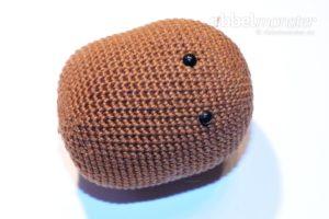 Amigurumi - größten Bär häkeln - Mr. Potato - Anleitung
