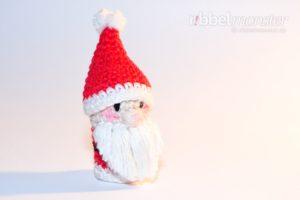 Amigurumi - Weihnachtsmann Fingerpuppe häkeln - Häkelanleitung