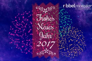 Frohes Neues Jahr 2017