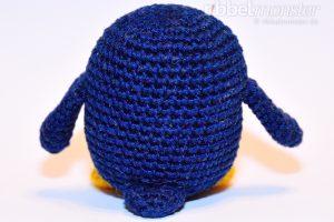 Amigurumi - mittleren Pinguin häkeln - Chubby - Anleitung kostenlos