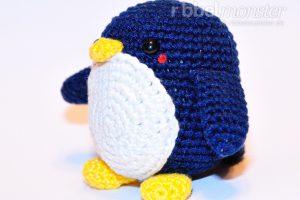 Amigurumi - mittleren Pinguin häkeln - Chubby - einfache Häkelanleitung