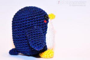 Amigurumi - mittleren Pinguin häkeln - Chubby - Häkelanleitung kostenlos