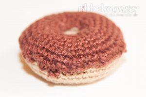 kostenlose Anleitung - Amigurumi - großen Schoko Donut häkeln