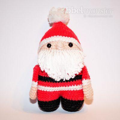 Amigurumi - Weihnachtsmann häkeln - Häkelanleitung - kostenlose Anleitung - gratis
