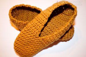 Schuhe häkeln - Puschen häkeln - Agathe - gratis Häkelanleitung