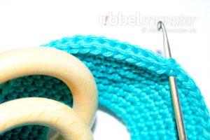 Einfachen Baby Greifling häkeln - kostenlose Häkelanleitung