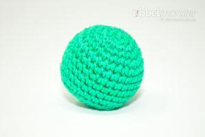 Amigurumi - einfachen kleineren Ball häkeln - kostenlose Häkelanleitung - gratis Anleitung