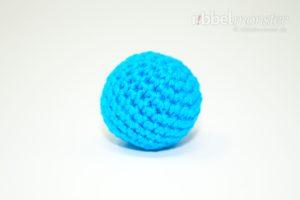 Amigurumi - einfachen kleinsten Ball häkeln - kostenlose Häkelanleitung - gratis Anleitung