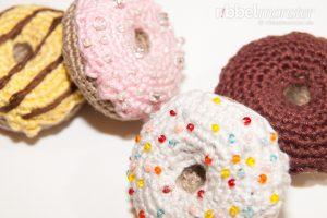 Amigurumi - große Donuts häkeln - Häkelanleitung