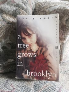 Tag- My copy of A Tree Grows in Brooklyn